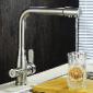 绮美斯不锈钢厨房冷热洗菜盆水龙头纯净水出水嘴直饮水360度